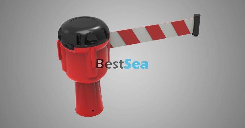 Retractable Cone Topper: 9Meter Cone-Top Retractable Belt Topper