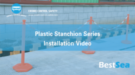 Plastic Stanchion Series Installation Video