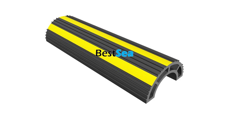 Flexible pvc pipe protection impact